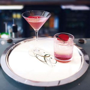A quick and easy Rose Petal Martini Recipe