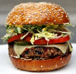 My favourite Veggie Burger Recipe | A twist on the Hillstone Veggie Burger