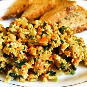 Spice up those eggs whites the Indian way! | Egg white Anda Bhurji