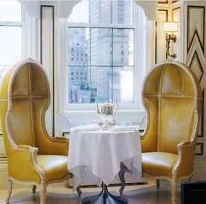 BG Restaurant | Multi-tasking at the Bergdorf