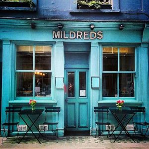 Mildred's London - London, Vegetarian Food Reviews London, Veggiebuzz