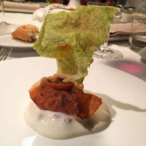 A veggie meal at Osteria Francescana | Modena, Italy - Top Experiences, Vegetarian Food Reviews Top Experiences, Veggiebuzz