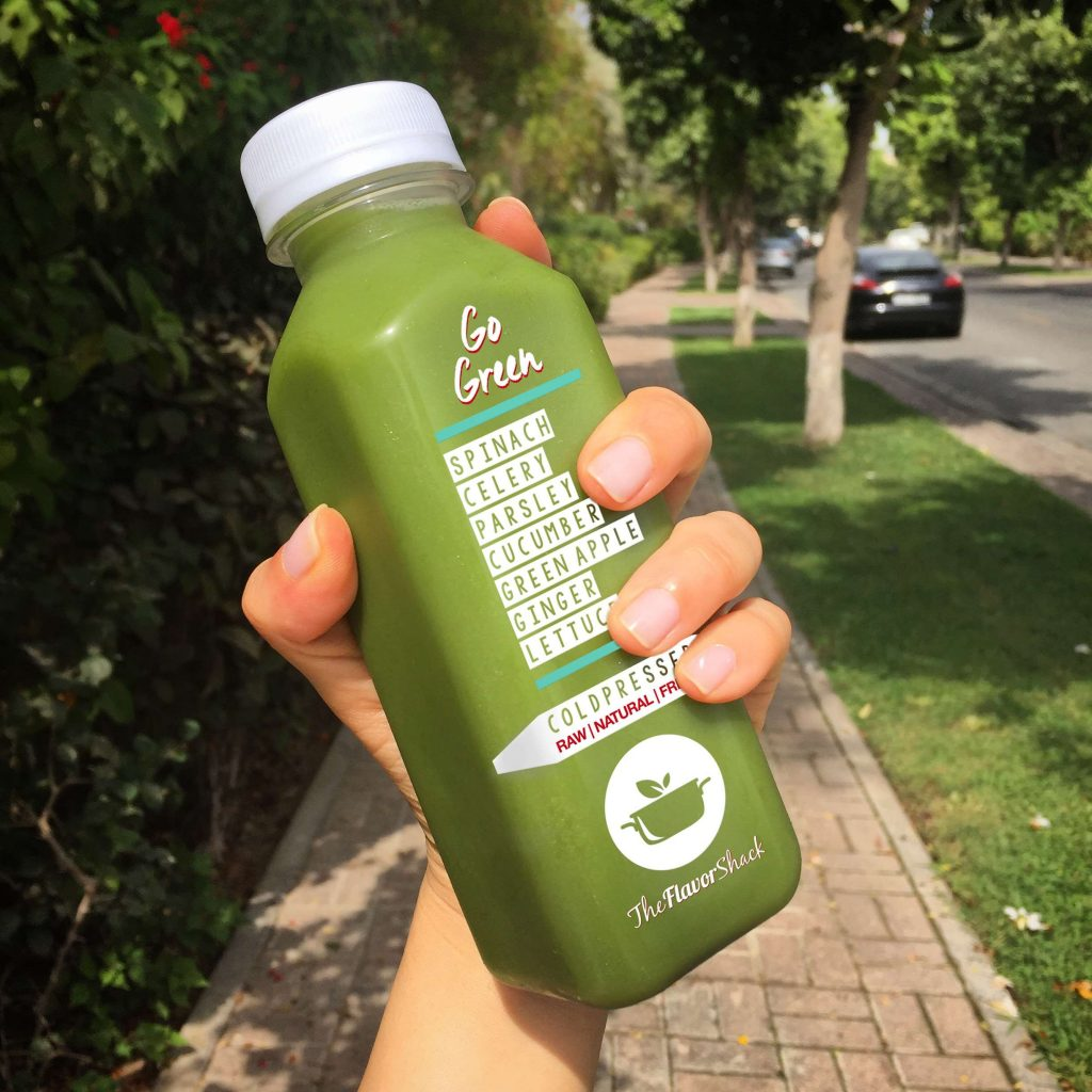 Juices-Flavor-Shack-Green Juice Cleanses Dubai
