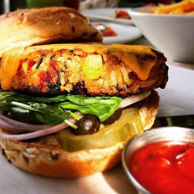 Best Veggie Burgers Dubai