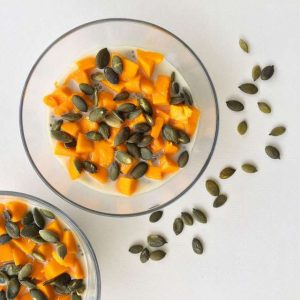 A simple vanilla chia pudding to play with