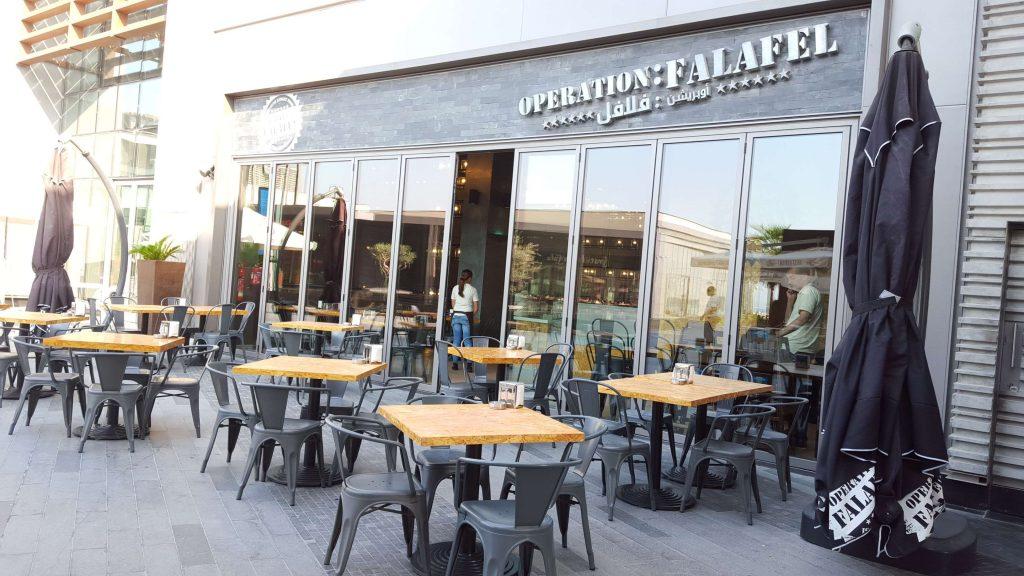 Operation:Falafel in Jumeirah Beach Residence (JBR), Dubai