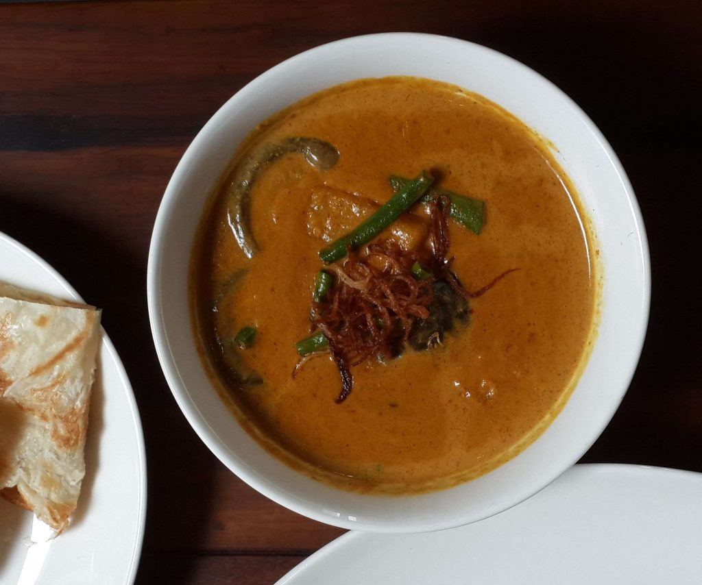 Butternut Pumpkin Curry Busaba Eathai JBR Dubai - Eating the Rainbow