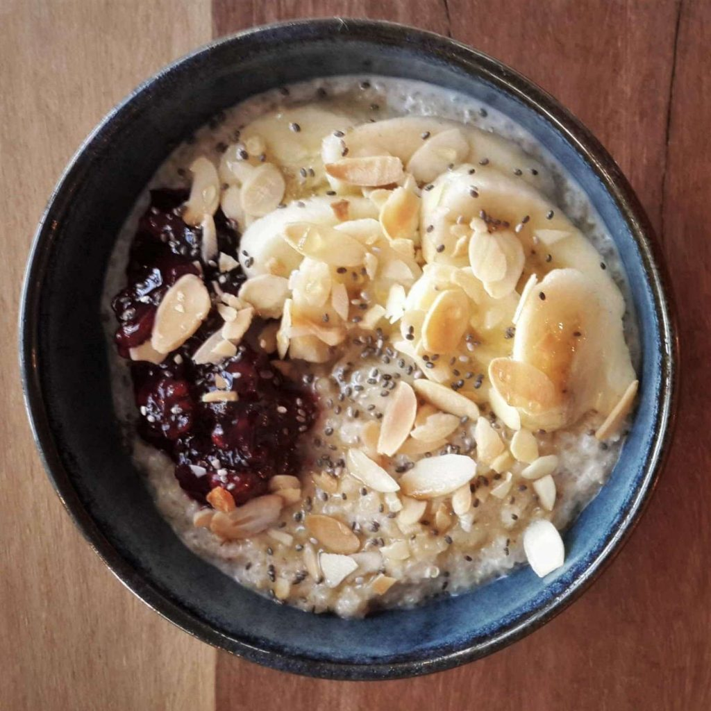 Quinoa Porridge - Waking Up to Crumble | Crumble, Downtown Dubai