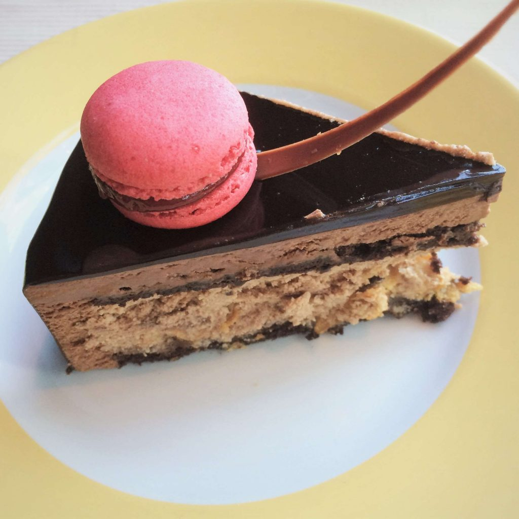 Flourless Chocolate Cake - La Farine, JW Marriott Marquis, Business Bay, Dubai