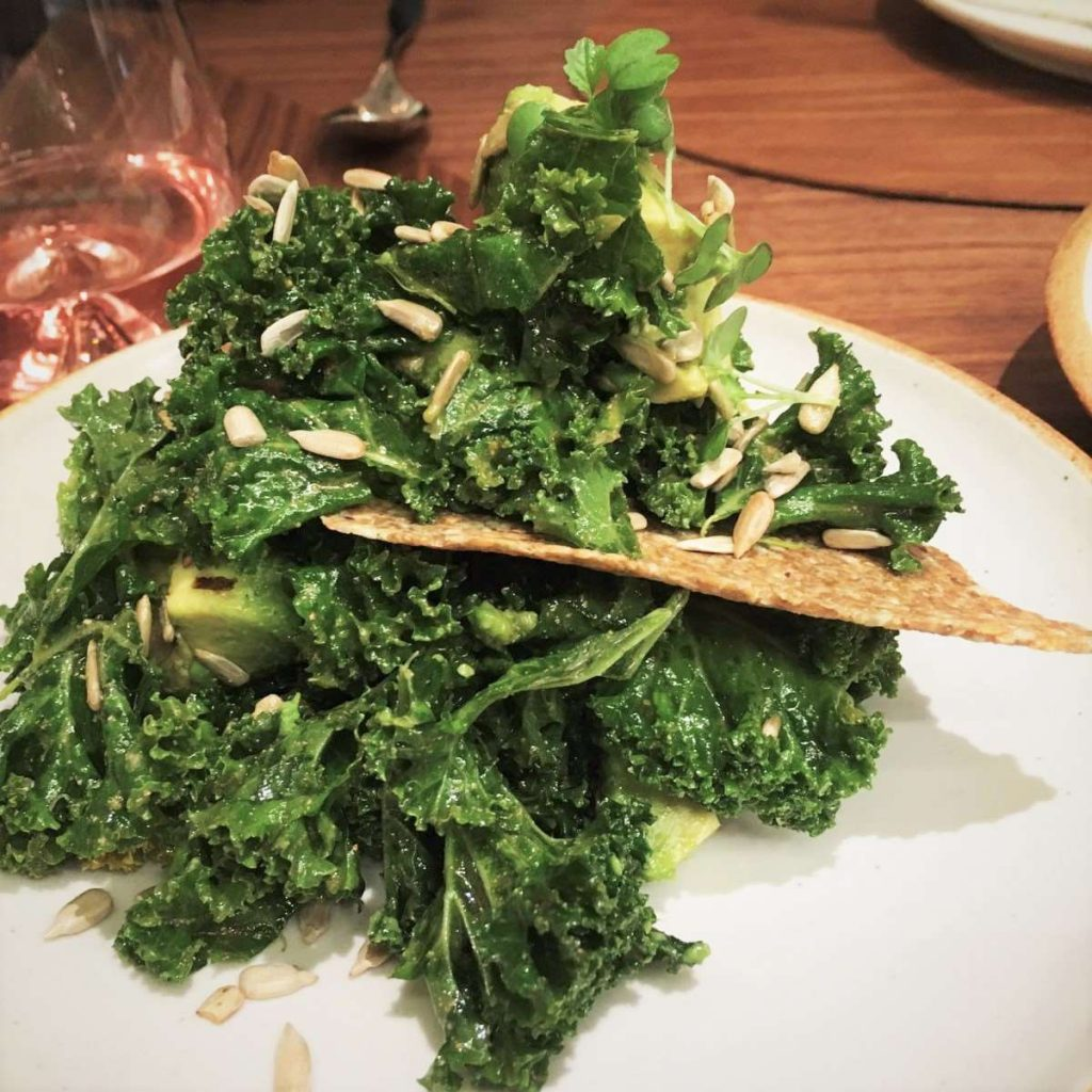 Kale Avocado Salad - Intersect by Lexus, DIFC