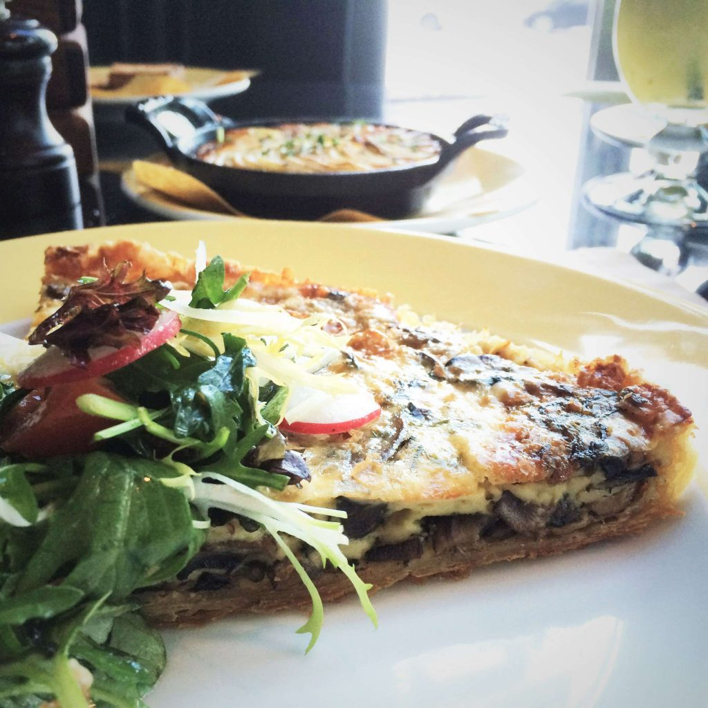 Mushroom Gruyere Tarte - La Farine, JW Marriott Marquis, Business Bay, Dubai