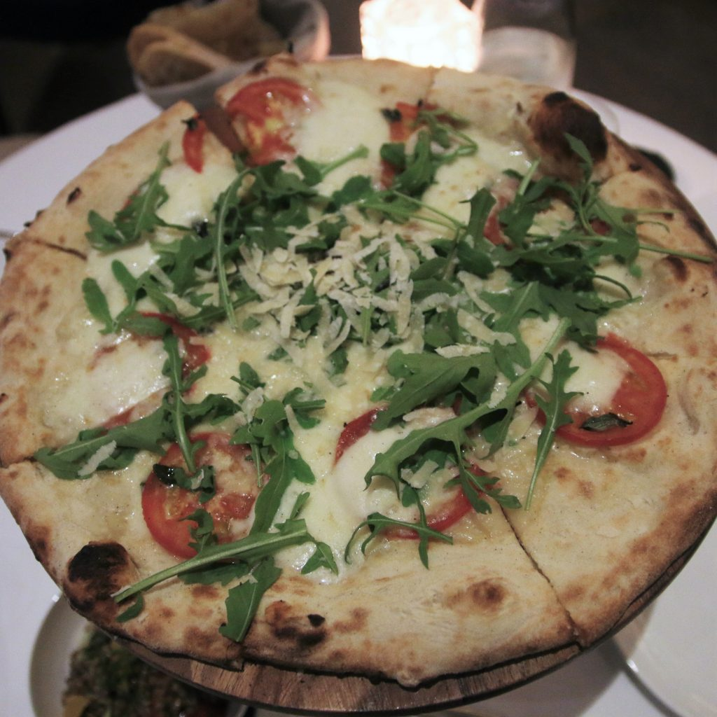 Caprese Pizza - Billionaire Mansion Dubai