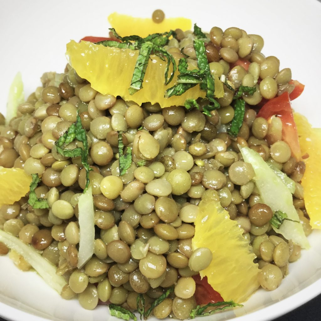 Lentil Salad - Billionaire Mansion Dubai