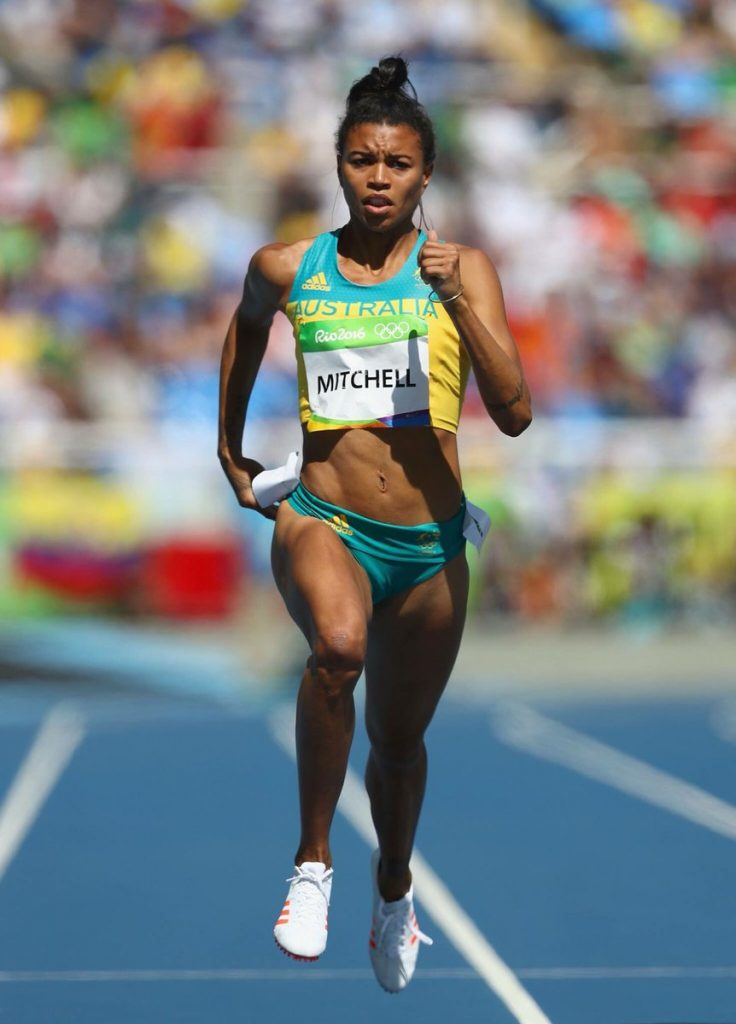 Vegetarian Olympic Athletes - Morgan Mitchell