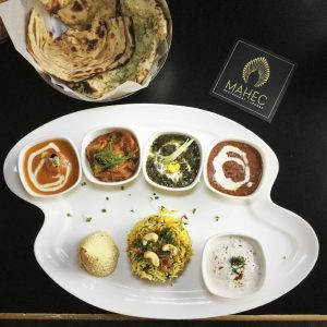 An Aromatic Afternoon at Mahec - Indian Cuisine Dubai, Indian Vegetarian Food Reviews Dubai