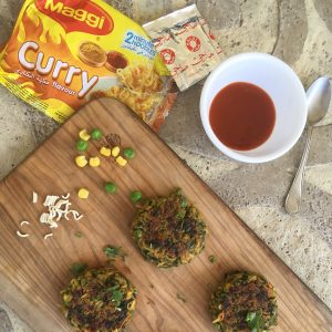 Maggi Curry Noodle Cutlets