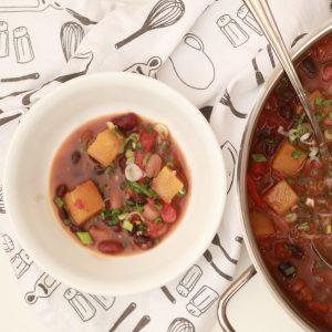 A Heartwarming Vegan 3 Bean Chili Recipe-Events & Demonstrations Features, Vegetarian Food Feature Dubai - Vegetarian Food Blog by Veggiebuzz